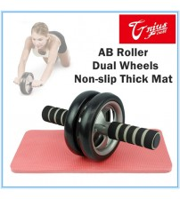 Free Postage New Execise AB Abdominal Wheel Roller Workout Body Gym Home Fitness