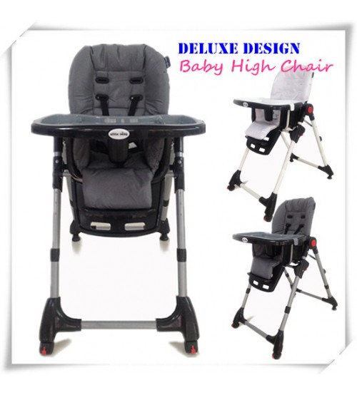 New Adjustable Portable Baby Highchair High Chair Feeding Kids Toddler
