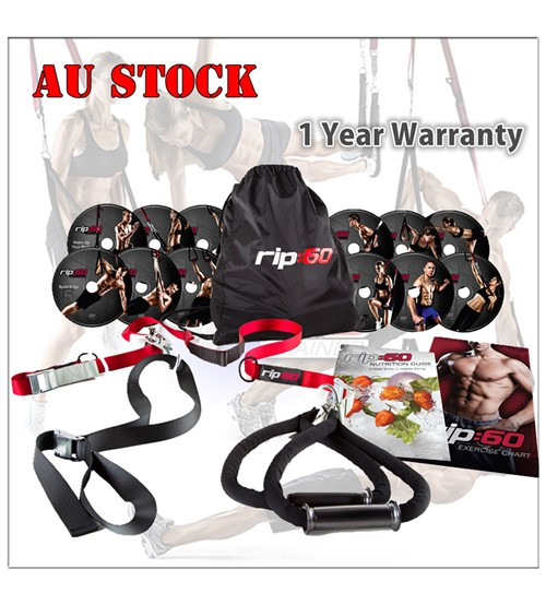 NEW RIP60 RIP:60 Swing Suspension Trainer Kit Workout Strength Training Home Gym