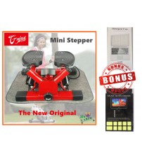 NEW MINI STEPPER TRAINER CARDIO FITNESS CALVES THIGH EXERCISE WORKOUT TWISTER